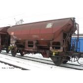 Tillig 17561 Schwenkdachwagen Tds 941 der DB AG, vermietet an Hydro Agri Rostock GmbH, Ep. VI