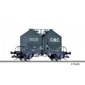 Tillig 17770 Staubsilowagen IVf C.N.C., eingestellt bei der SNCF, Ep. III