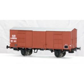 ACME 40095 Geschlossener Güterwagen, Typ F, kurzem Schritt, bei der MÁV eingesetzt