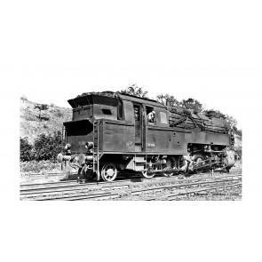 Arnold HN9036 Dampflokomotive, BR 95 der DB, Modellausführung mit ursprünglichem Kessel und Kohlefeuerung, Epoche III