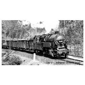 Arnold HN9037 Dampflokomotive, BR 95 der DRG, Modellausführung mit ursprünglichem Kessel und Kohlefeuerung, Epoche II