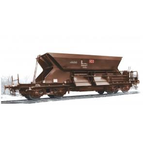 Arnold HN9701 3-teiliges Set Selbstentladewagen, Bauart Fac 125 mit niedrigem Oberkasten der DB AG