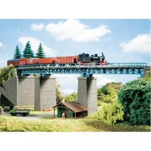 Auhagen 13325 Stahlbrücke im Bogen