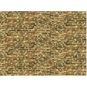 Auhagen 50116 Dekorpappen Kalksteinmauer klein