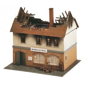 Faller 130429 Brandruine Gasthaus Zur Sonne