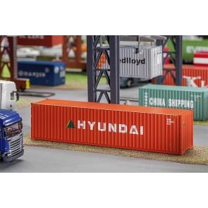 Faller 180849 40' Hi-Cube Container HYUNDAI