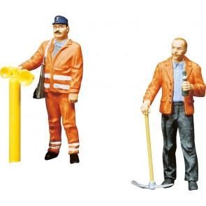 Faller 331834 2 Gleisbauarbeiter