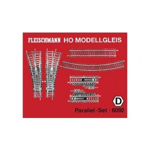 Fleischmann 6092 Parallel-Set.