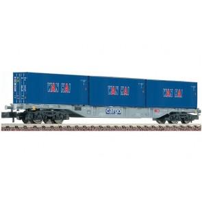Fleischmann 824404 Containertragwagen. mit WANHA