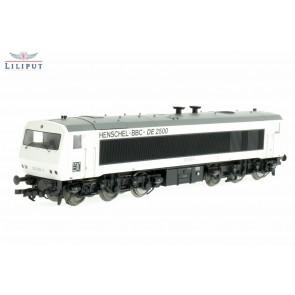Liliput 132050 Diesellok DE2500 202 003-0, 6-achsig, DB, weiß, Ep.IV