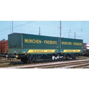 Liliput 235220 Containertragwagen Lgjs 571 Schenker DB IV