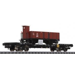 Liliput 235787 4-achs.Transportwagen m.H0e Güterwagen K905 STLB, ÖBB, Ep.V