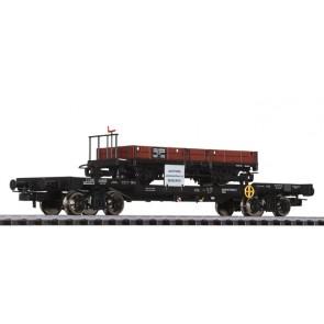Liliput 235788 4-achs.Transportwagen m.H0e Güterwagen Jh/s 1116 STLB, ÖBB, Ep.V