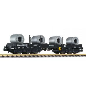 Liliput 265765 Schwerlastwagen Coil Transport Sahmms 711 486 9 103-0 DB