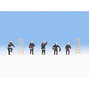 Noch 15021 Feuerwehr (schwarze Schutzanzüge)