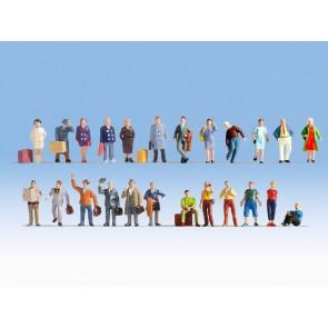 Noch 16101 Figuren-XL-Set Reisende