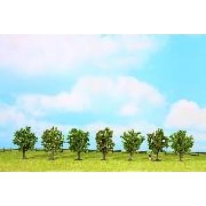 Noch 25090 Obstbäue grün, 7 St., 8 cm