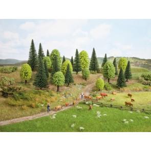 Noch 26811 Mischwald, 25 Bäume, 5 - 14 cm hoch