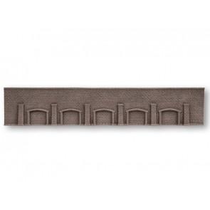 Noch 58277 Arkadenmauer, extra lang, 66 x 12,5 cm