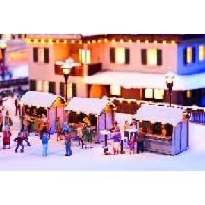 Noch 66412 Weihnachtsmarktbuden, 3 St.