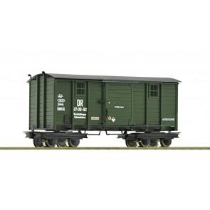 Roco 34062 H0e Werkstattwagen 4a. DR grün