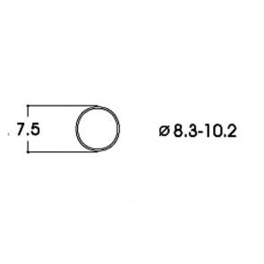Roco 40068 Haftringsatz 10Stk.8,3-10,2mm