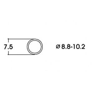 Roco 40073 Haftringsatz 10Stk.8,8-10,2mm