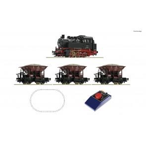 Roco 51159 Analog-Startset BR80 + GZ