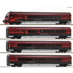 Roco 64189 4-tlg Set Railjet DCC