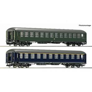 Roco 74113 2-tlg. Set: Schnellzugwagen, Museum Darmstadt-Kranichstein epoche 3