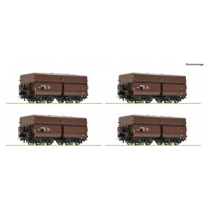 Roco 76063 4er Set Erzwg. + Erz ÖBB