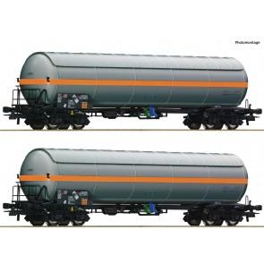 Roco 76073 2er Set Druckgaskesselwagen