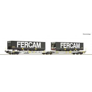 Roco 76435 Doppeltwg. T2000+ Fercam