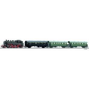 Tillig 01210 Digital-Einsteiger-Set: Personenzug mit Modellgleisoval der PKP Ep. III