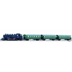 Tillig 01211 Digital-Einsteiger-Set: Personenzug mit Modellgleisoval der CSD Ep. III