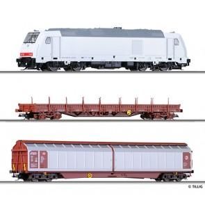 Tillig 01424 Güterzug Bettungsgleis