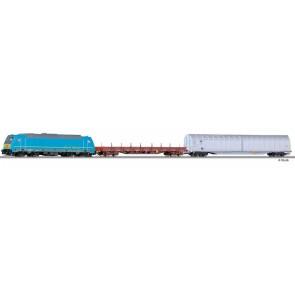 Tillig 01438 Einsteigerset-Güterzug mit Bettungsgleisoval der MAV, Ep. VI