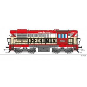 """Tillig 02758 Diesellokomotive Reihe 740 """"CECHOMOR"""" der KDS s.r.o. Kladno, Ep. VI"""
