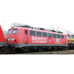 "Tillig 04394 Elektrolokomotive BR 110 ""Bahntechnik und Kompetenz"" der DB AG, Ep. VI"