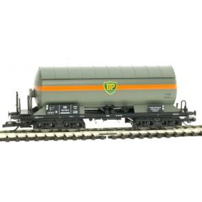 Tillig 15013 Gaskesselwagen BP Benzin- und Petroleum AG, eingestellt bei der DB, Ep. III
