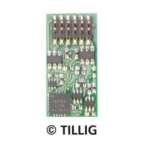 Tillig 66016 Dekoder PluX12 TT
