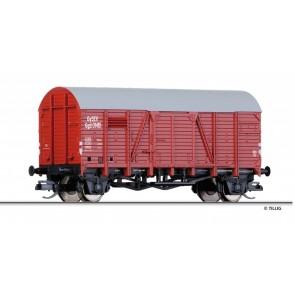 Tillig 95216 Gedeckter Güterwagen Ggu der GYSEV, Ep. III