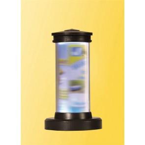 Viessmann 5192 H0 Drehende Litfaßsäule mit Beleuchtung