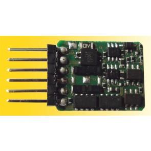 Viessmann 5241 N Lokdecoder mit Stiftleiste 6 polig NEM651 S