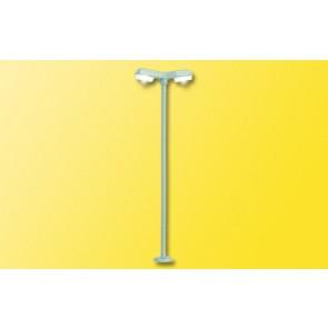 Viessmann 6498 N Straßenleuchte modern doppelt, LED weiß