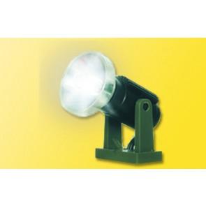 Viessmann 6530 N Flutlichtstrahler nieder, LED weiß Höhe: 10 mm